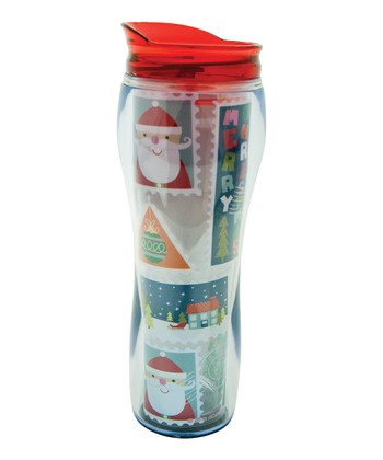 Letters to Santa 16-Oz. Travel Mug