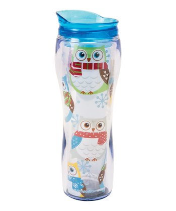 Snowy Owls 16-Oz. Travel Mug