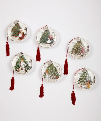 Carlson Fine Art Christmas Tradition Ornament Set