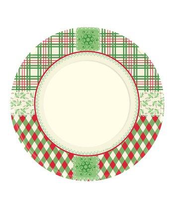 C.R. Gibson Christmas Classics 7'' Melamine Plate