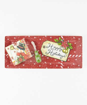 Cypress Home Happy Holidays Hostess Gift Set