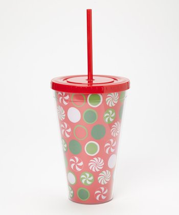 Dennis East International Red & Green 24-Oz. Tumbler
