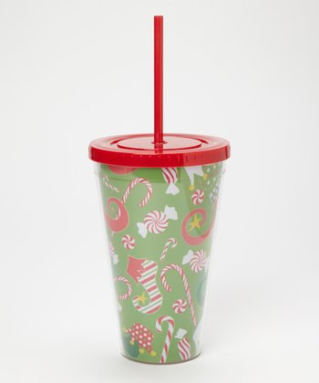 Dennis East International Elf Shoes 24-Oz. Tumbler