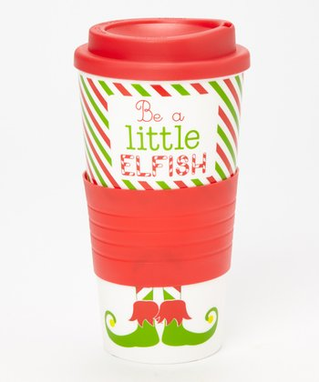 Dennis East International 'Be a Little Elfish' 10-Oz. Tumbler