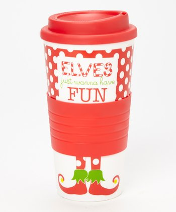 Dennis East International 'Elves Just Wanna Have Fun' 10-Oz. Tumbler