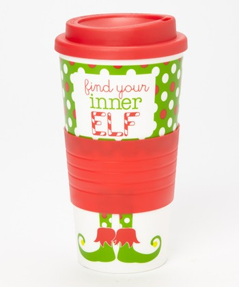 Dennis East International 'Find Your Inner Elf' 10-Oz. Tumbler