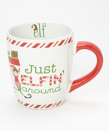 Dennis East International 'Just Elfin Around' 24-Oz. Jumbo Mug