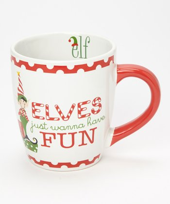 Dennis East International 'Elves Just Wanna Have Fun' 24-Oz. Jumbo Mug