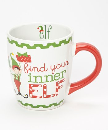 Dennis East International 'Find Your Inner Elf' 24-Oz. Jumbo Mug