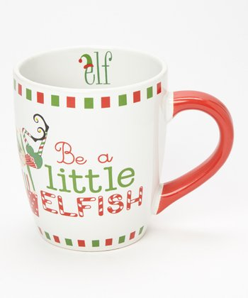 Dennis East International 'Be a Little Elfish' 24-Oz. Jumbo Mug