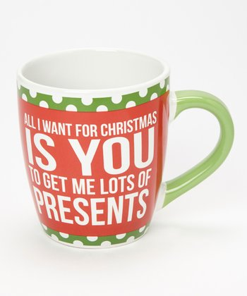 Dennis East International 'Presents' 24-Oz. Jumbo Mug