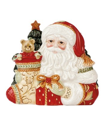 Fitz and Floyd Bountiful Holiday Napkin Holder