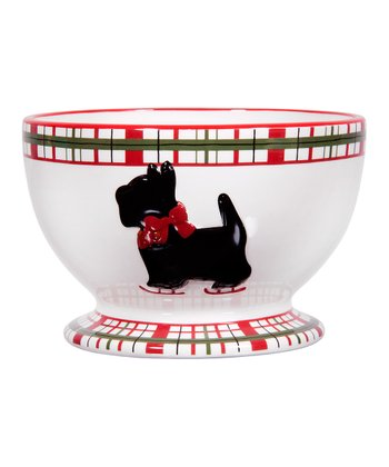 Global Design Scottie Plaid 6'' Cereal Bowl