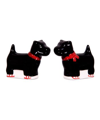 Global Design Scottie Salt & Pepper Shakers