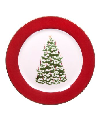 Global Design Tannenbaum 8'' Dessert Plate
