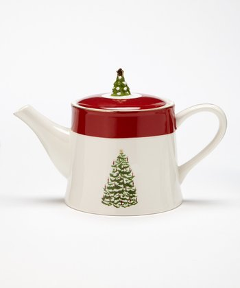 Global Design Tannenbaum 66-Oz. Teapot