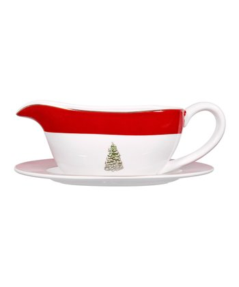 Global Design Tannenbaum 18-Oz. Gravy Boat