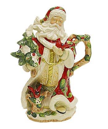 Kaldun and Bogle Cardinal Santa Teapot