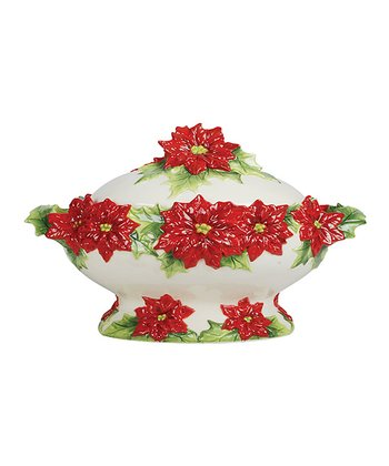 Kaldun and Bogle Poinsettia Tureen