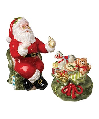 Kaldun and Bogle Santa & Gift Bag Salt & Pepper Shakers