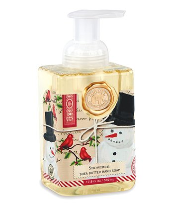Snowman Foaming Hand Soap