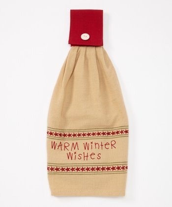 Warm Wishes Hand Towel
