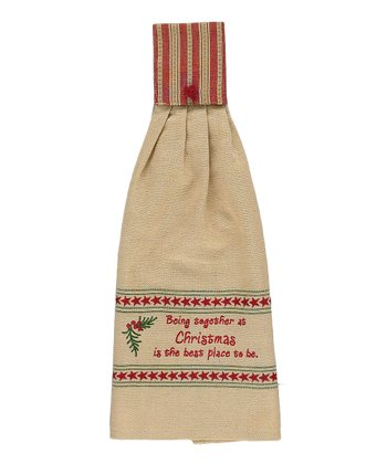 Park Designs Together at Christmas Hand Towel