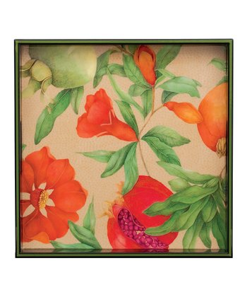 rockflowerpaper Pomegranate El Flora 15'' Tray