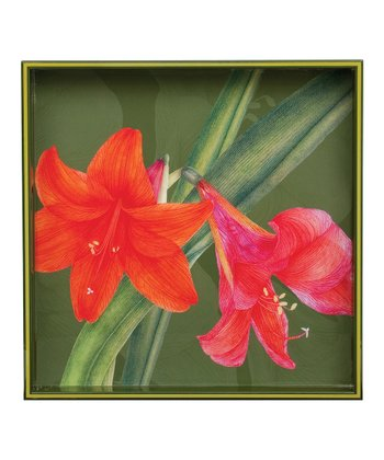 rockflowerpaper Amaryllis 15'' Tray