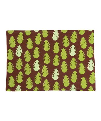 rockflowerpaper Pine Cone Place Mat - Set of Four