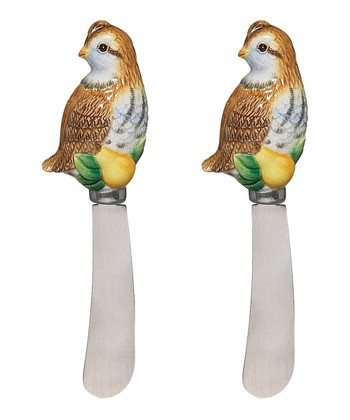 Andrea by Sadek Partridge 5.25'' Spreader - Set of Two