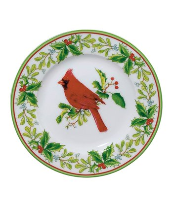 Cardinal 7.5'' Plate - Set of Four