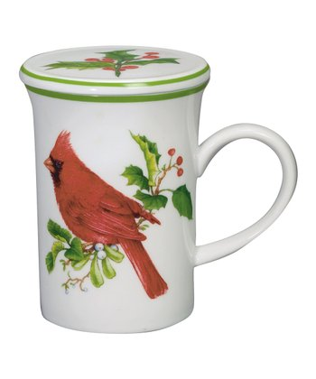 Andrea by Sadek Cardinal 4.25'' Covered Mug