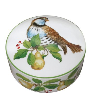 Partridge 4'' Covered Box