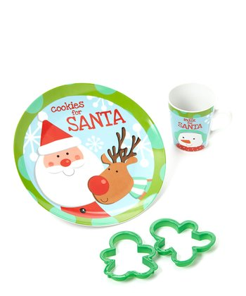 Reindeer 'Cookies for Santa' Set
