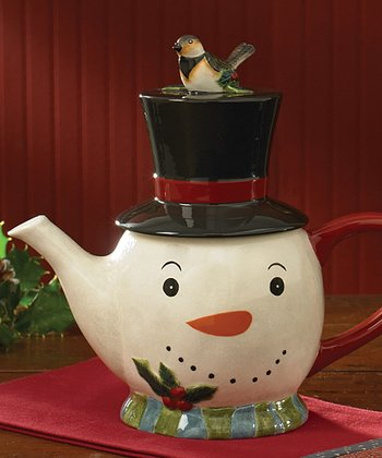 Park Designs Winter Magic Teapot