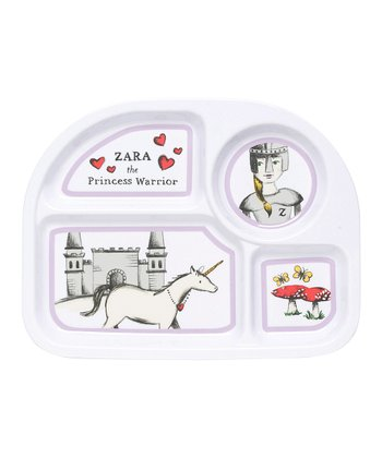 Little Kingdom Melamine Plate