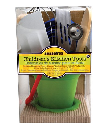 Tool & Herb Pot The Little Cook Kitchen Set