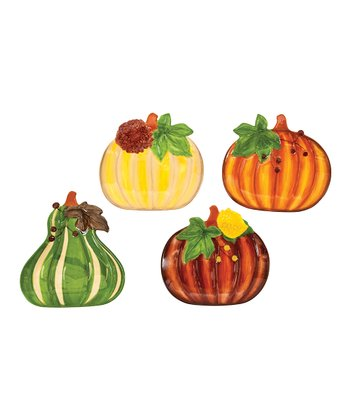 Harvest Table Dessert Plate Set