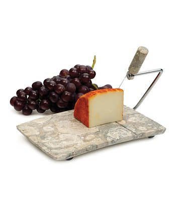 Fossil Marble Cheese Slicer