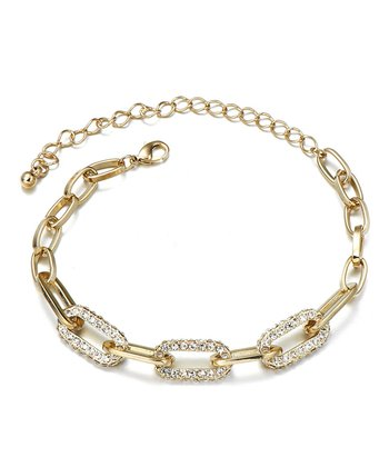 Gold Nexus Bracelet Made With SWAROVSKI ELEMENTS