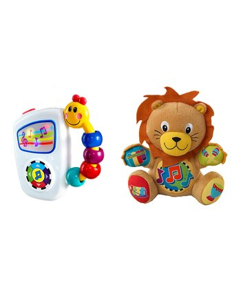 Take Along Tunes & Press & Play Lion Set