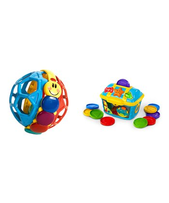 Bendy Ball & Count & Discover Treasure Chest Set