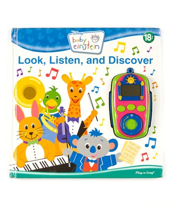 Look, Listen & Discover Play-a-Song Board Book