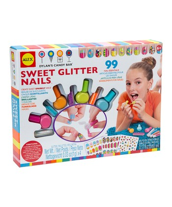 Sweet Glitter Nails Kit