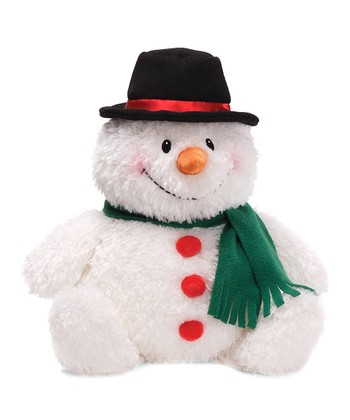 Large Blizzy Snowman Plush Toy