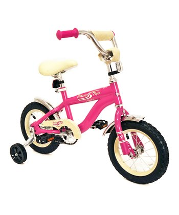 Pink 12'' Retro Bicycle