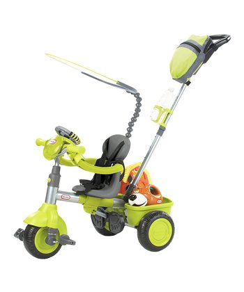 Green Deluxe Three-in-One Trike