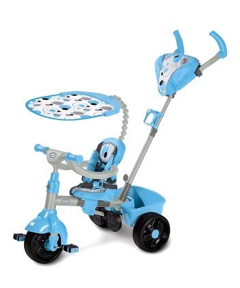 Blue Movi Three-in-One Trike