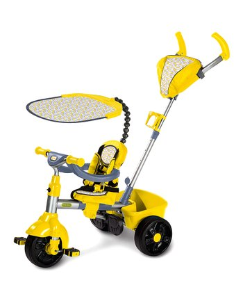 Yellow Movi Three-in-One Trike